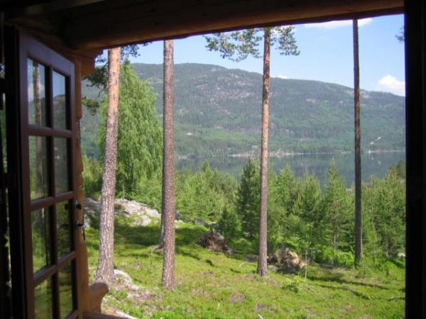 Uitzicht Huurwoning Lillesand Noorwegen Fjordhome